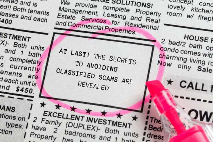 How to Avoid Scams and Fraud When Using Ugandan Classified Ad Sites