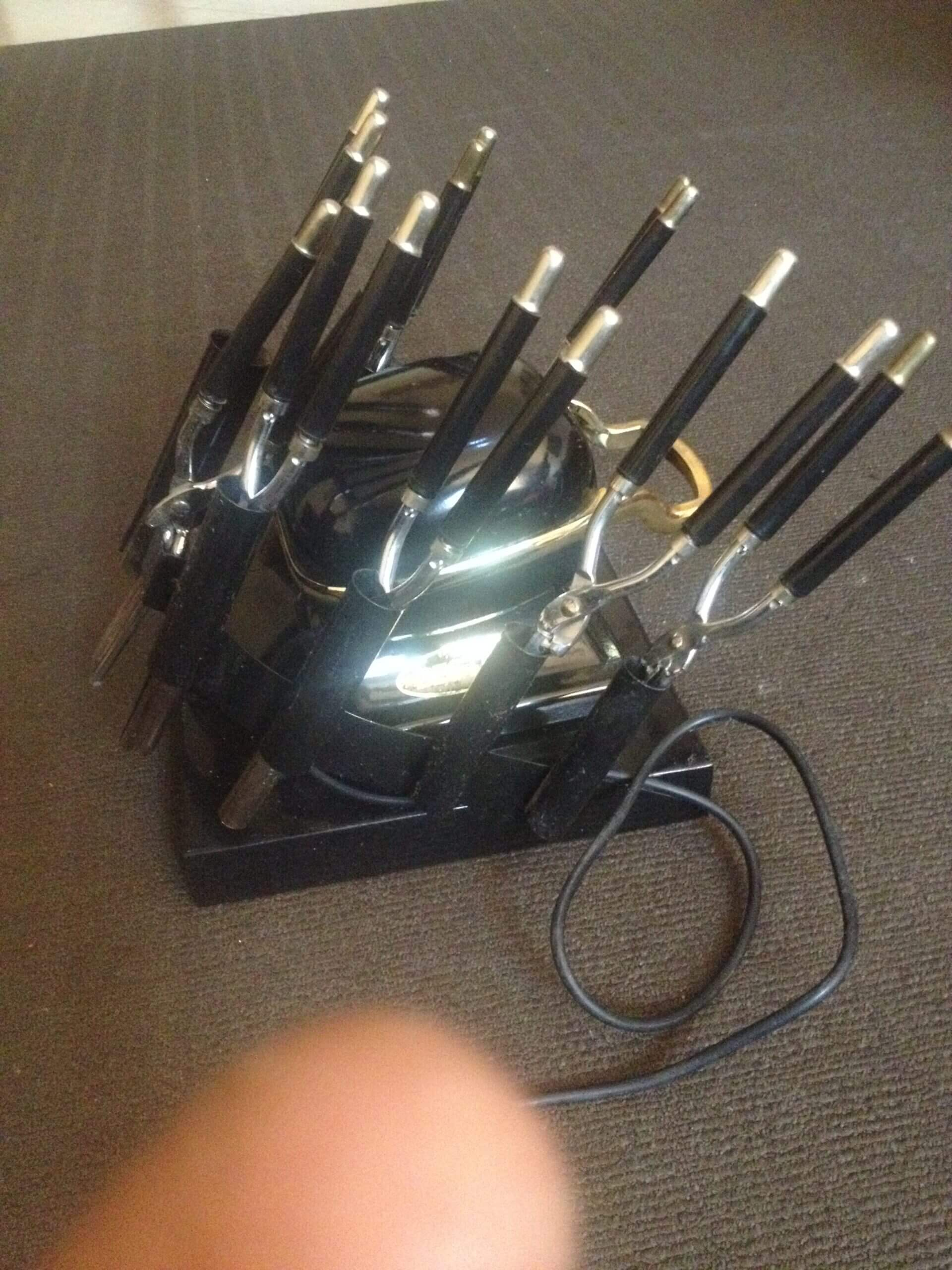 Hair Curling Electric Stove Set