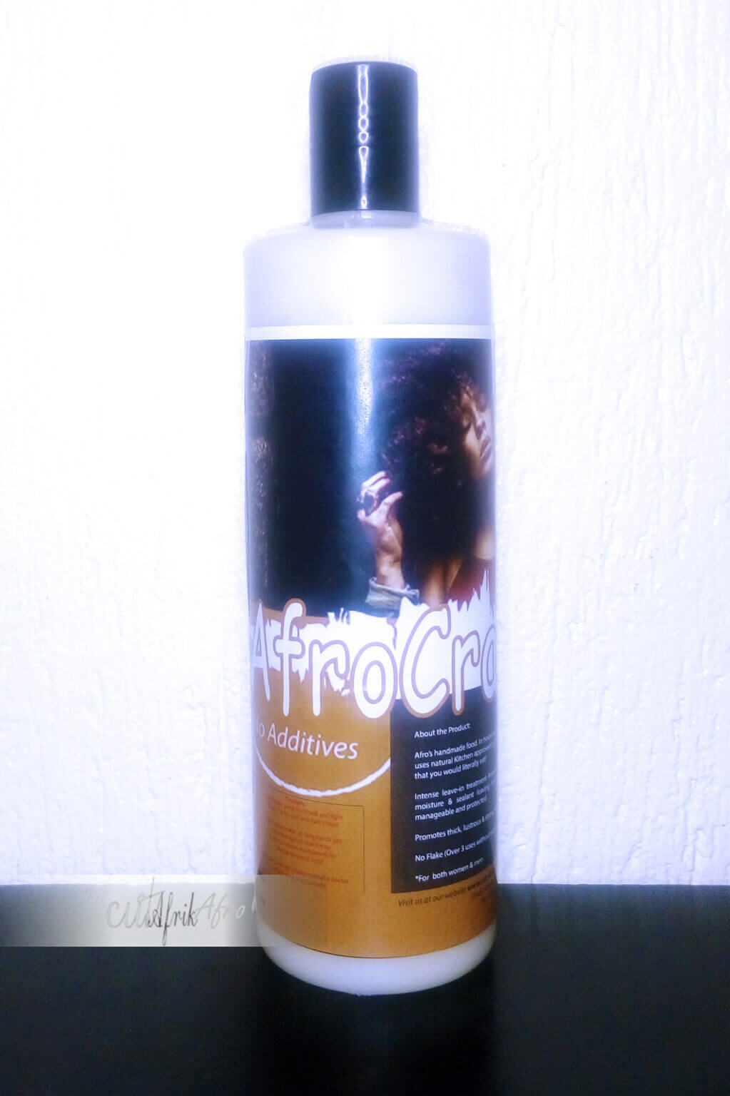Afrocraft hair food for kinky hair