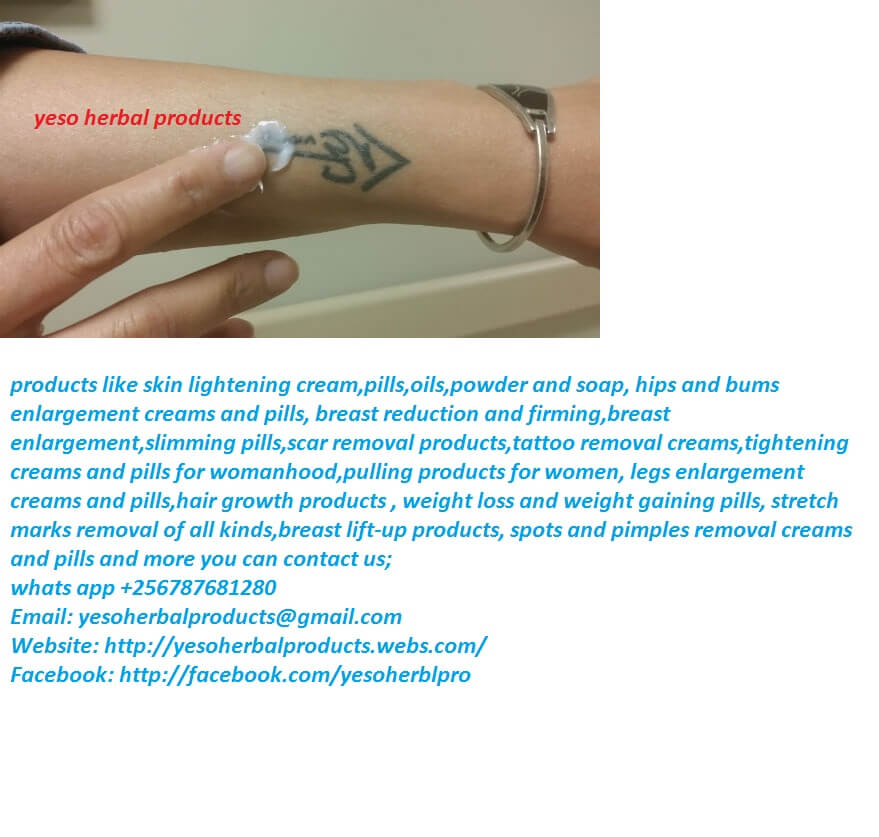 Yeso Herbal Tattoo and Scar Removal Creams