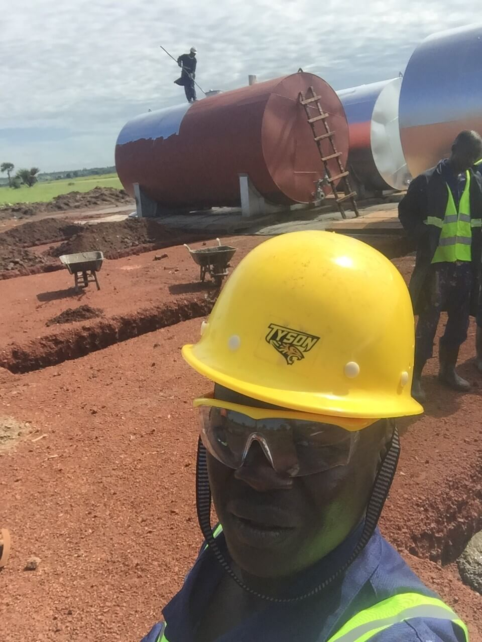 Steel Tank Installation