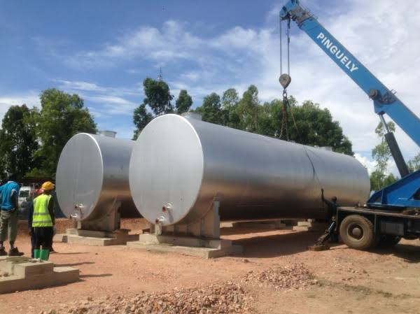 Underground Steel Tanks for Sale in Uganda