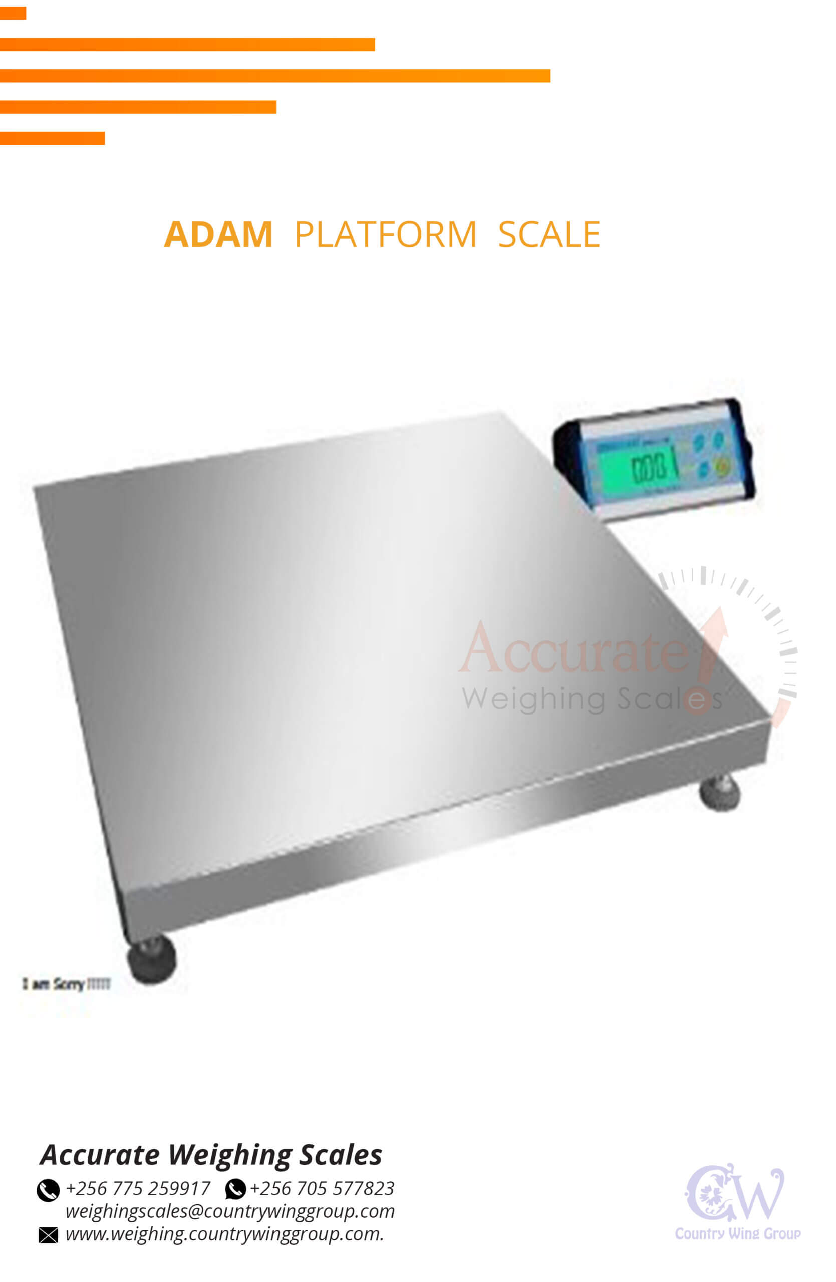 platform scales in stock Kampala Uganda