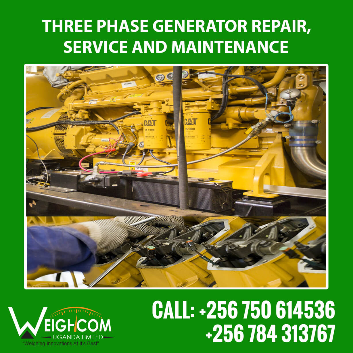 who performs diesel generator repair services in uganda? we do.