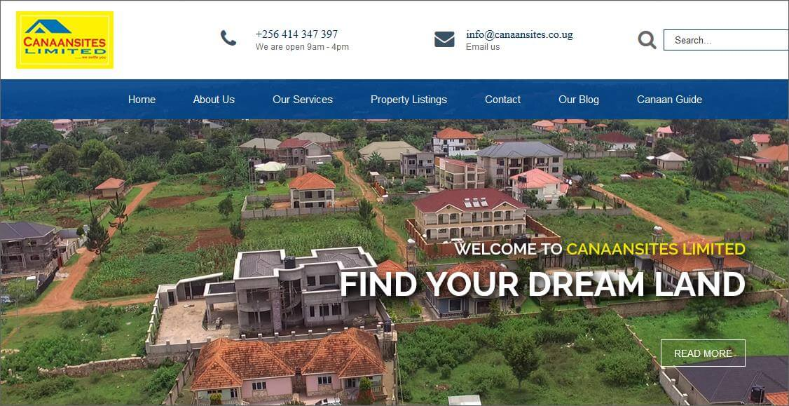 Land for Sale by Canaansites Kampala