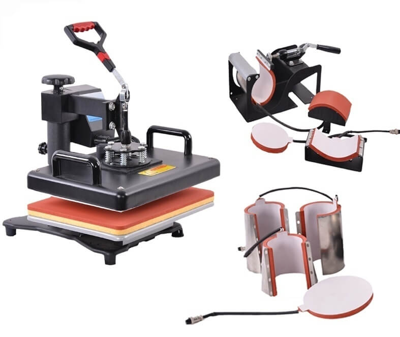 8in1 Heat Press Machine on sale