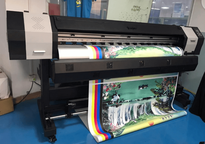 Image of a large format banner printer for sale in Uganda