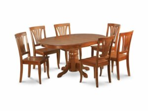 image showing dining table with six seats